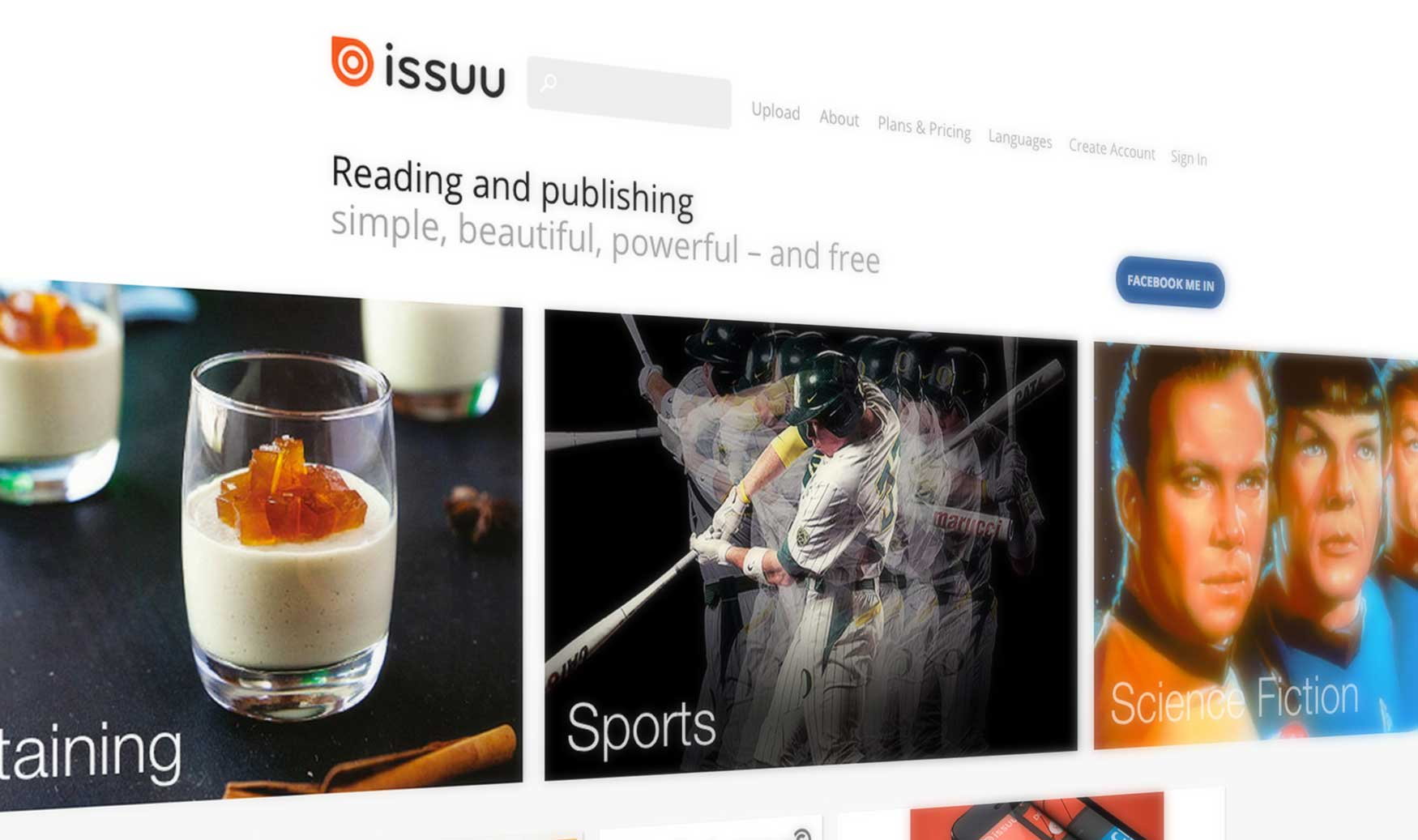 issuu features